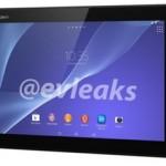 Спецификация планшетника Sony Xperia Tablet Z2 [Слухи]