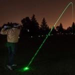 Мяч для гольфа со светодиодной подсветкой