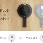 Брелок GOkey со встроенным аккумулятором зарядит смартфон в дроге
