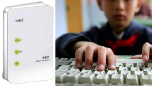 NEC  Aterm WF300HP2 Wi-Fi