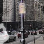 На улицах Чикаго появиться фонари, которые будут следить  за уровнем загрязнения окружающей среды