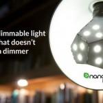 Первая в мире лампочка Nanoleaf Bloom, яркость которой можно плавно регулировать без диммера