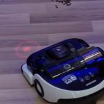 Новый робот пылесос Samsung VR9000H умеет следовать  за лазерной меткой