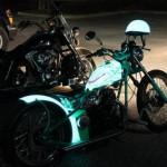 Новая люминесцентная краска LumiLor светиться в темноте как светодиоды