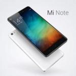 Xiaomi  представили  да новых флагманским смартфона серии Xiaomi Mi Note