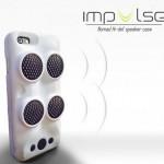 Impulse – чехол для смартфона со встроенной акустической системой