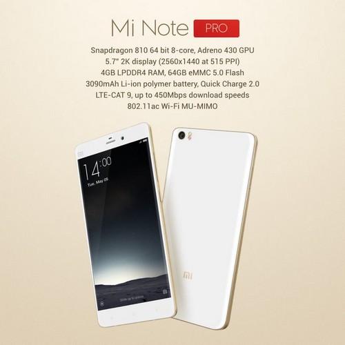 Xiaomi Mi Notes Pro