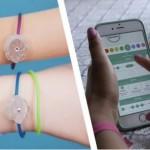 Умный браслет Jewelbots, со светодиодной подсветкой, научит девочек программировать