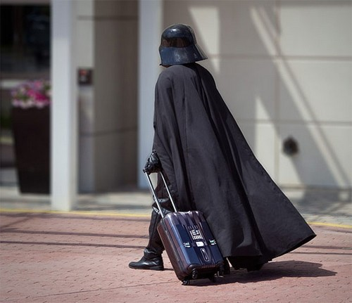 Darth Vader Rolling Luggage