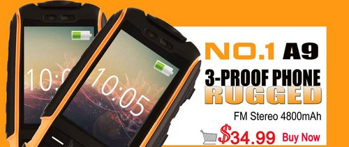 No.1 A9 Rugged Phone