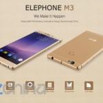 Elephone M3 – смартфон с процессором  Helio P10, камерой IMX230 и Android 6 на борту