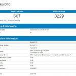Первые результаты тестов Nokia D1 с SD 430 и  Android  Nougat на борту появились в интернете