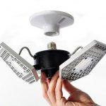 Светодиодная лампочка TRiLIGH с датчиком движения для гаража