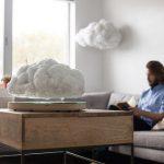 Floating Cloud Display – летающее домашнее грозовое облако