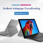 Chuwi  начали принимать предзаказ на новый планшетник Chuwi SurBook через Indiegogo