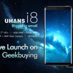 Безрамочный смартфон Uhans I8 стал доступен для покупки на Geekbuying