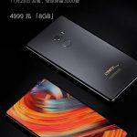 Керамический смартфон Xiaomi Mi Mix 2 Ceramic Black черного цвета будет стоить 715$