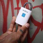 BenjiLock — навесной замок со сканером отпечатков пальцев
