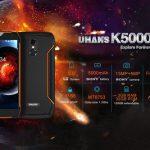 Uhans K5000 – первый защищенный смартфон с 18: 9 экраном