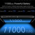 OUKITEL K10 будет продаваться с новым  5В / 5В зарядником полностью заряжающий  гигантский аккумулятор за 170мин