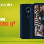 Motorola представили три новых смартфона Moto G6 серии