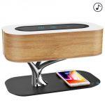 Ampulla Bedside Lamp – прикроватная лампа с беспроводным зарядным устройством