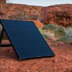 Boulder 50 – мобильная переносная 50 ваттная солнечная электростанция