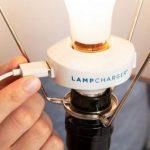 Переходник LampCharger превратит светильник в USB зарядное устройство