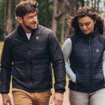 Температуру подогрева умных курток и жилеток 8K Flexwarm можно регулировать с помощью смартфона