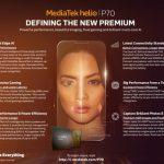 MediaTek  представили новый процессор Helio P70, который представляет собой Helio P60 на стероидах