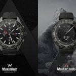 Гибридные умные механические  часы  LG V40  ThinQ стоят 450$