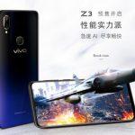 Vivo  представили новый 6,3-дюймовый смартфон Vivo Z3 со стеклянным корпусом за 230 долларов