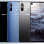 Samsung официально представили новый смартфон Galaxy A8s с Infinity-O экраном