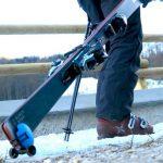 Skiddi — мини -тележка для лыж