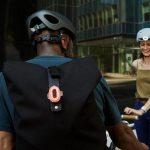 Pixel – сигнальный двухцветный фонарь для велосипеда с универсальным креплением