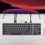 Kolude KD-K1 Keyhub – алюминиевая клавиатура с USB-хабом для Apple гаджетов