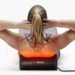 Массажных роликов HotRock с подогревом быстрей снимет боль в мышцах