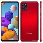 Samsung  Galaxy A21s – смартфон с L-образной квадрокамерой и 5000мАч аккумулятором