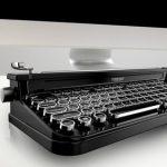 Fineday – беспроводная механическая клавиатура в ретро стиле