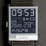 Watchy E-paper – Arduino умные часы с экраном  основе электронных чернил