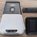 WooBloo SMASH – первый в мире компактный проектор  с умным голосовым помощником Alexa