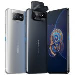 ASUS анонсировали новый флагманский смартфон Zenfone 8 Flip с вращающейся камерой
