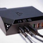 Зарядное устройство EGO EXINNO 240W/120W имеет 6 USB для быстрой зарядки мобильных устройств